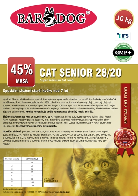 CAT Senior 10 Kg