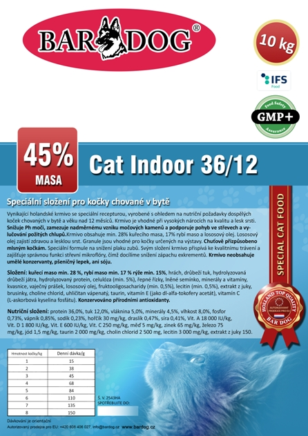 Cat Indoor 4 kg