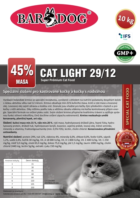 Cat Light 10 kg